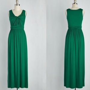 """""""Brunch at Home"""" Maxi in Emerald"""